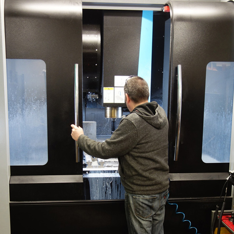 In-house Machining and Fabrication