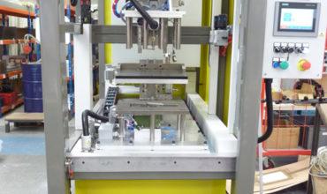 Hot plate welding and Hot insert press